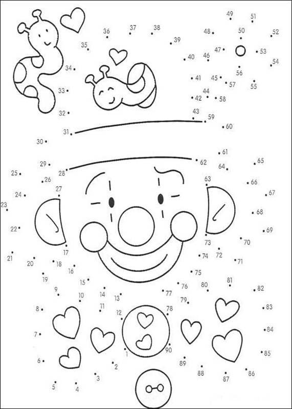 Connect The Dot Drawing at GetDrawings Free for personal use