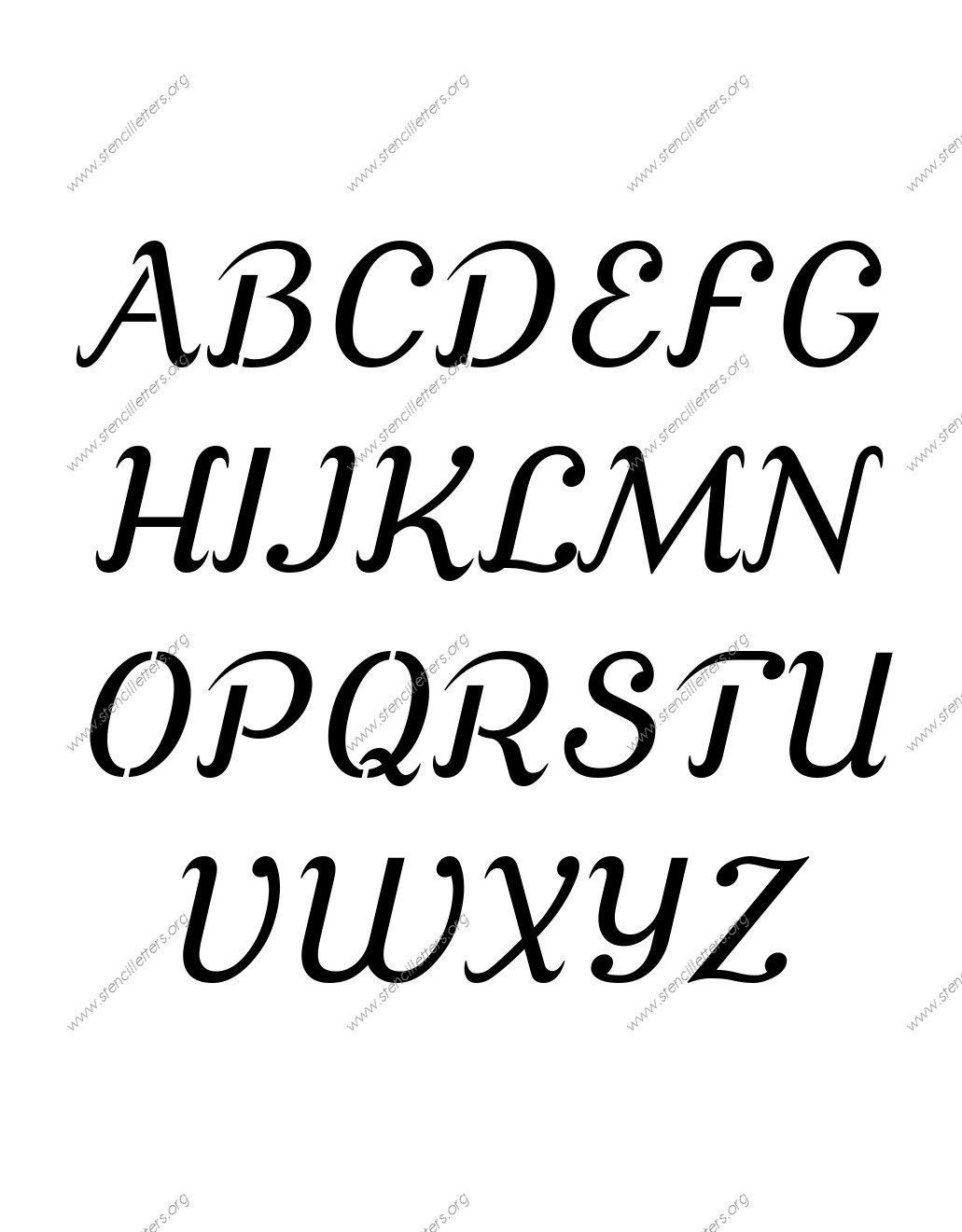 Calligraphy Fonts W Calligraphy Fonts A Z Cursive