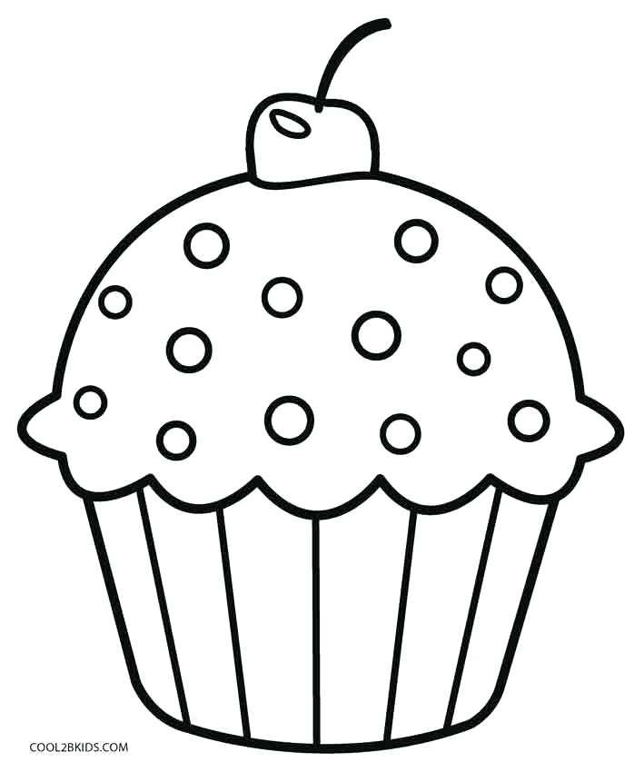 Cute Cupcake Drawing at GetDrawings Free for personal use Cute