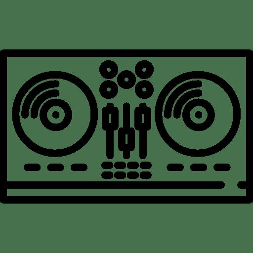 dj audio equipment