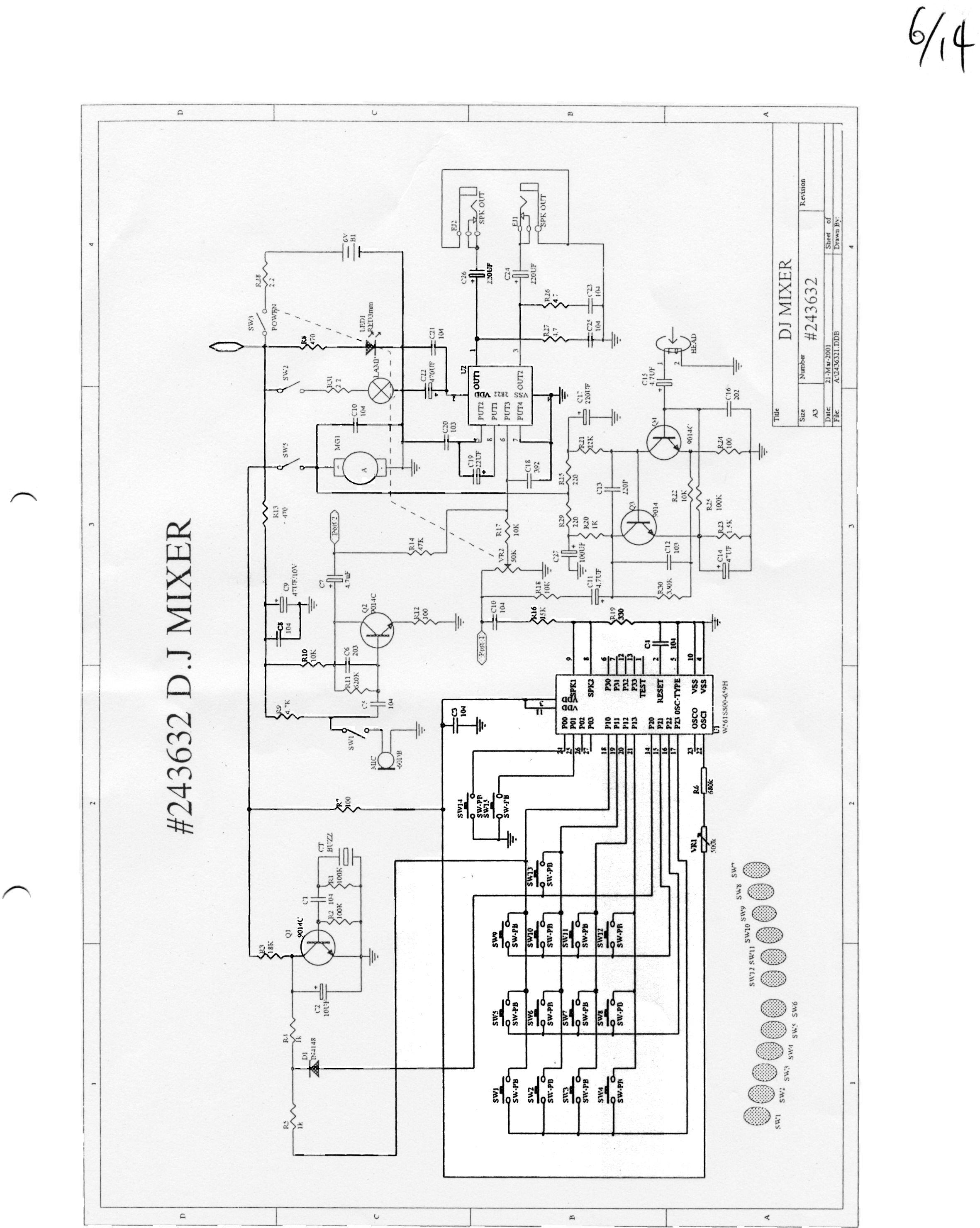 dj wiring diagrams