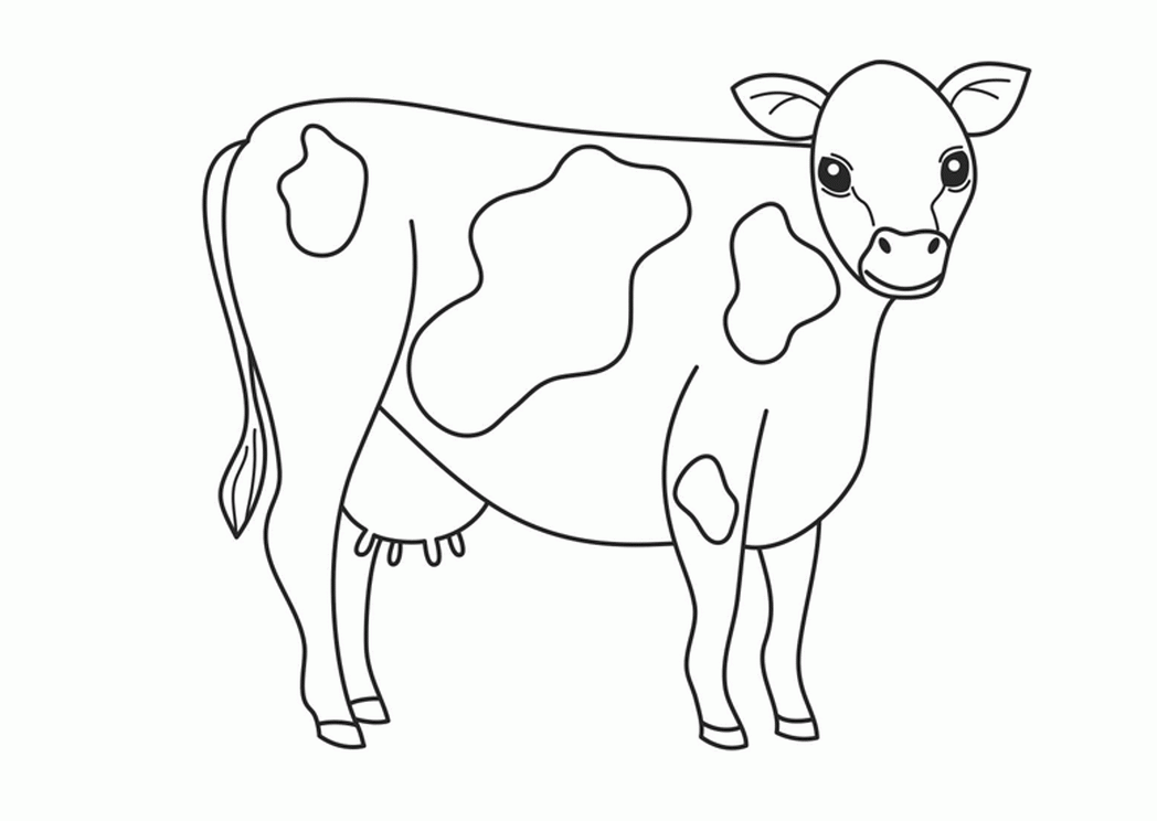 Domestic Animals Coloring Pages - Eskayalitim