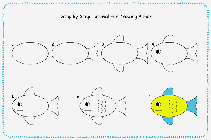 Drawing For Kids Step By Step At Getdrawingscom Free