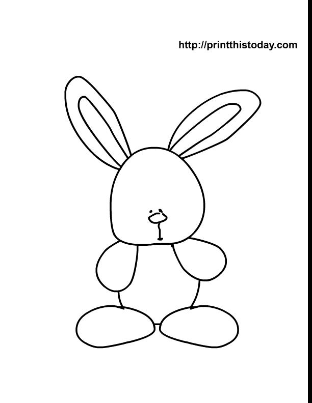 Easter Drawing Templates at GetDrawings Free for personal use