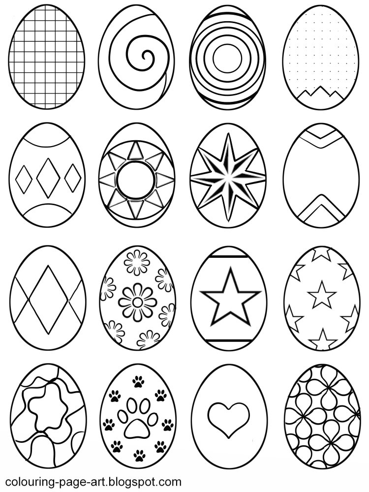 Easter Egg Drawing at GetDrawings Free for personal use Easter