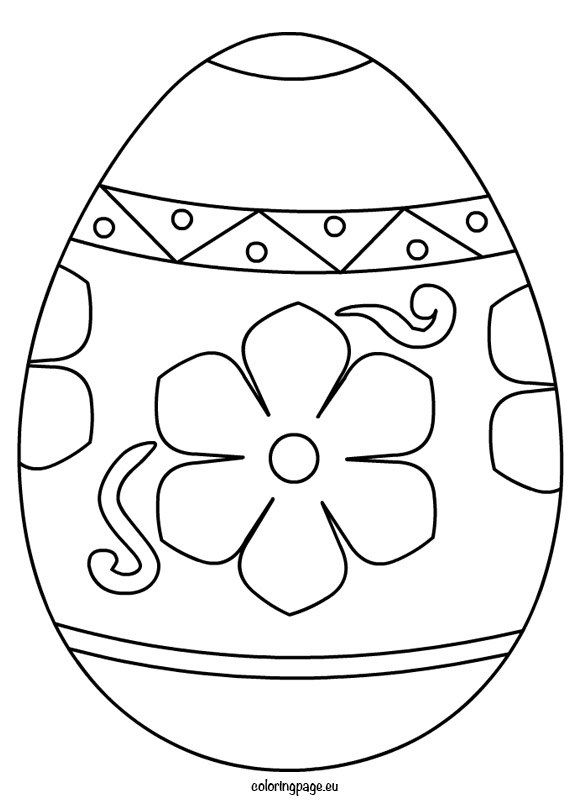 Easter Egg Drawing Template at GetDrawings Free for personal