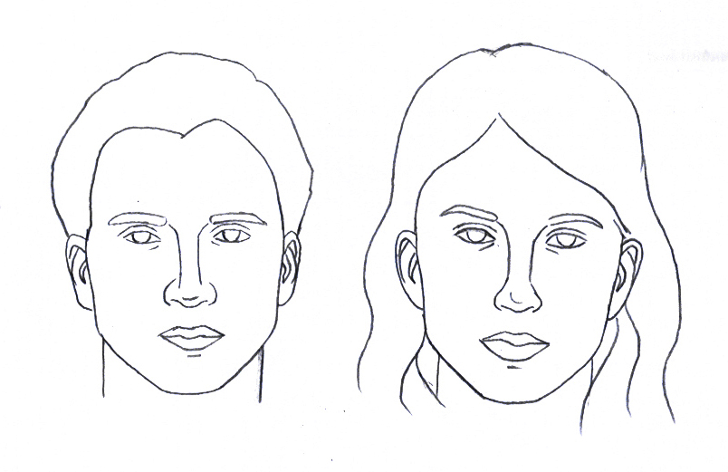Face Template For Drawing_ at GetDrawings Free for personal - blank face template printable