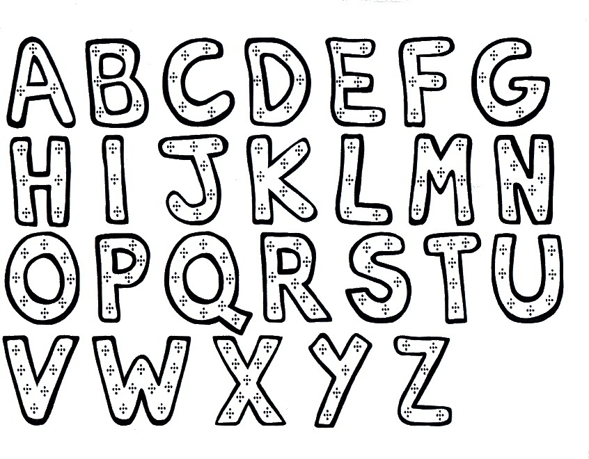 Fancy Letters Drawing at GetDrawings Free for personal use