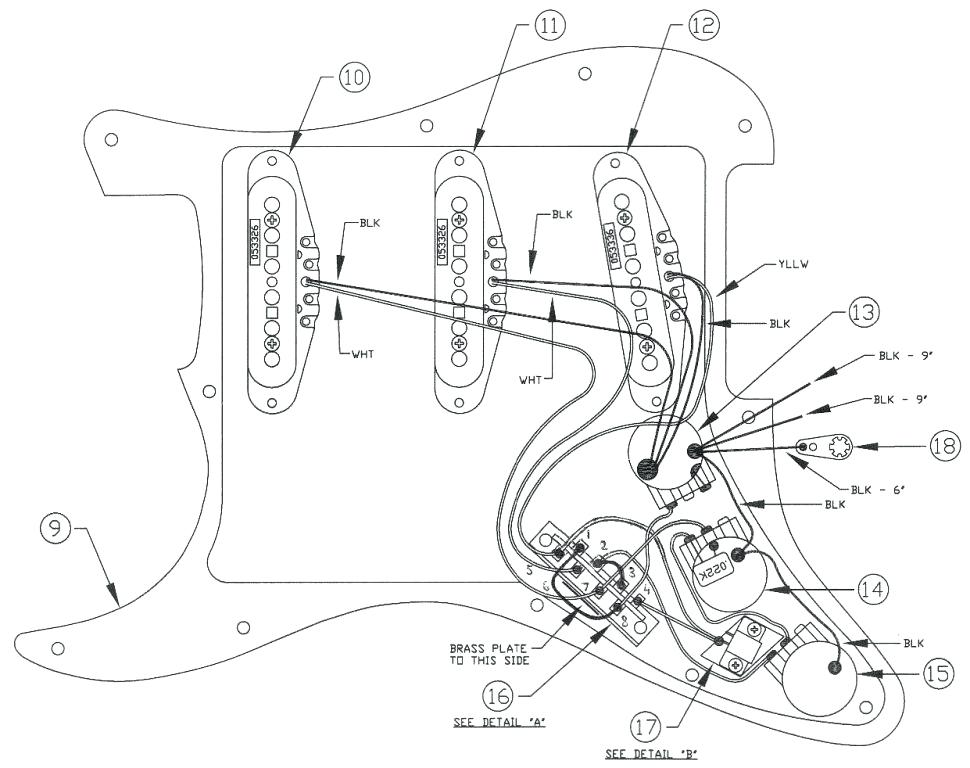 Fender Stratdeluxe Wiring Diagram 19 Free Schematic And Wiring