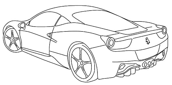 mustang car drawing at getdrawings com