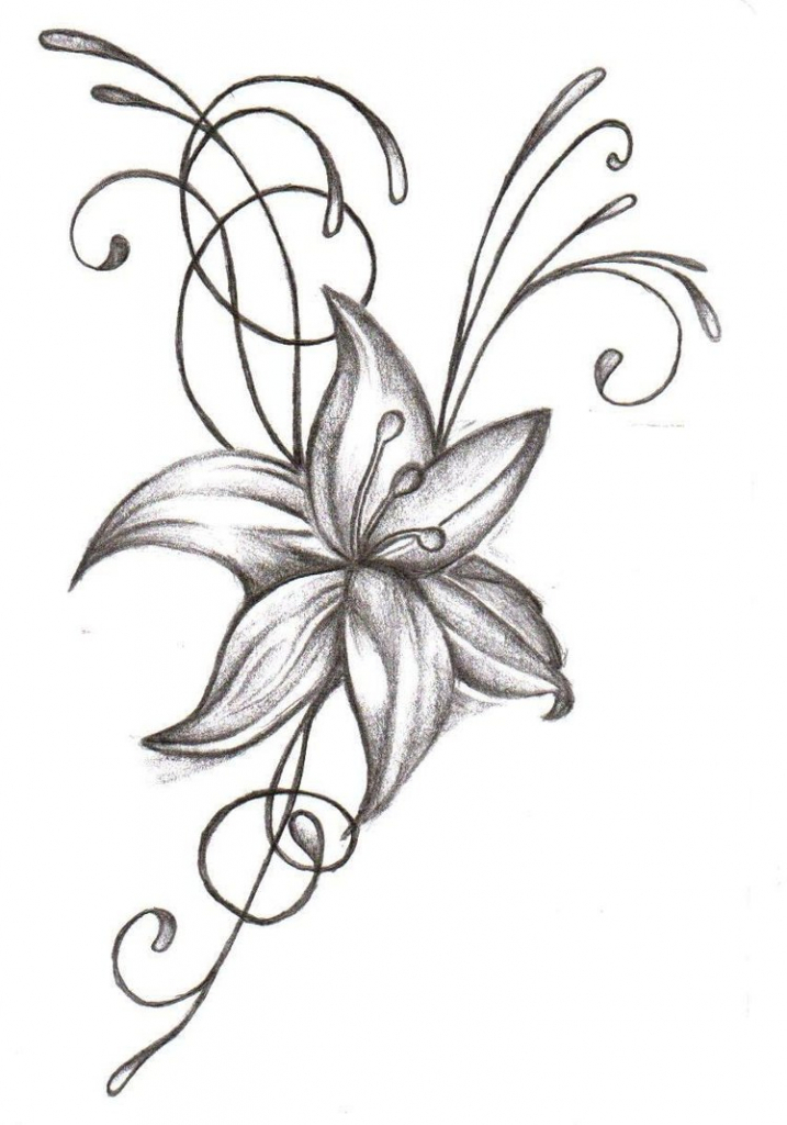 Flowers Drawing Simple at GetDrawings Free for personal use