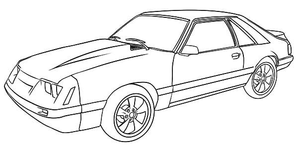 1984 ford mustang Schaltplang