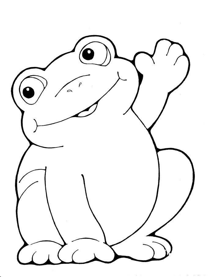 Frog Drawing For Kids at GetDrawings Free for personal use