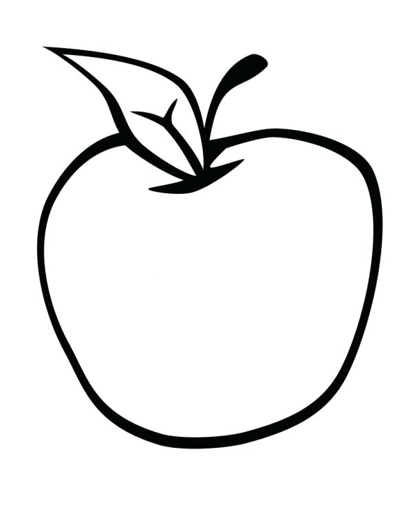 Half Apple Drawing at GetDrawings Free for personal use Half