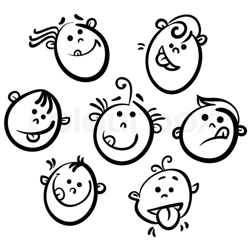 Happy Face Cartoon Drawing at GetDrawings Free for personal