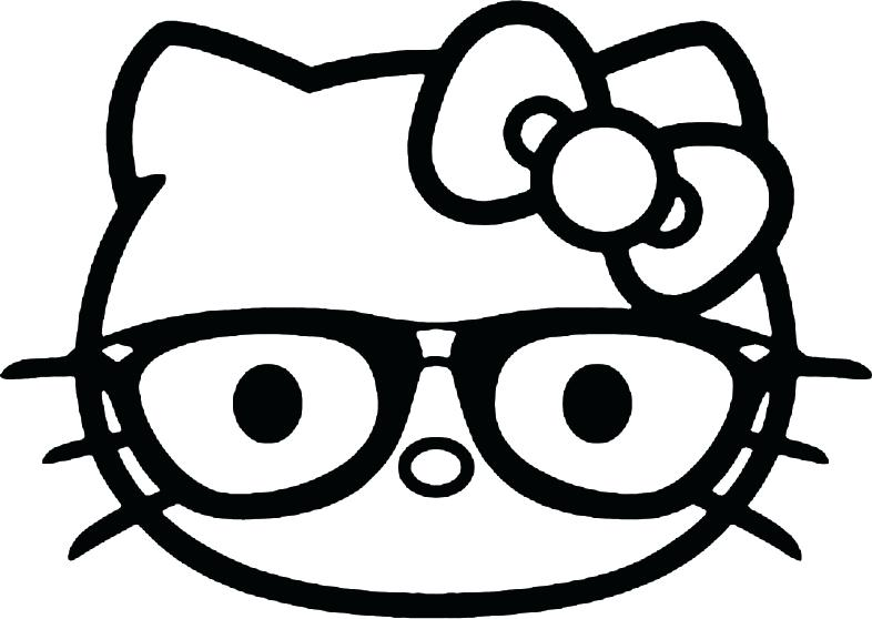 Hello Kitty Face Drawing at GetDrawings Free for personal use