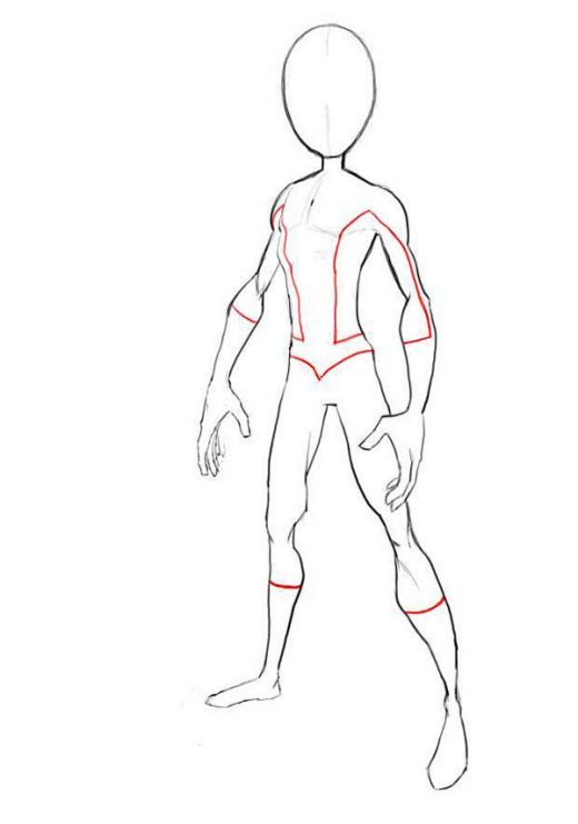 Human Body Drawing Outline at GetDrawings Free for personal