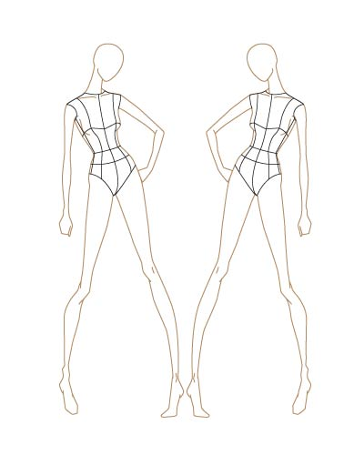 Human Figure Drawing Template at GetDrawings Free for personal