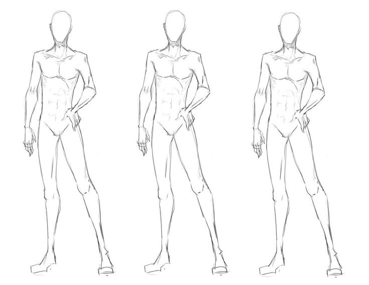Human Figure Drawing Template at GetDrawings Free for personal - fashion template