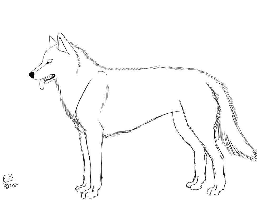 Husky Puppy Coloring Pages - Eskayalitim