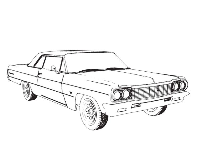 1968 chevrolet impala 2 door