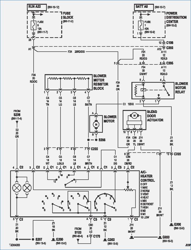 2006 jeep tj headlight wiring diagram