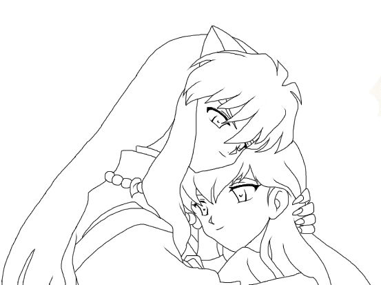 Kagome Drawing At Getdrawingscom Free For Personal Use