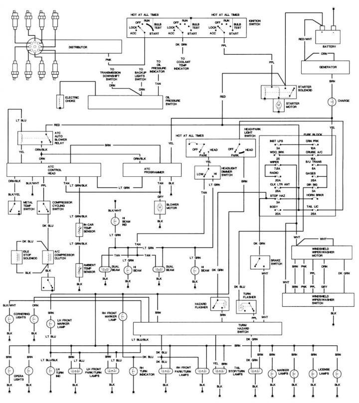 Wiring Diagram Sinkron Genset
