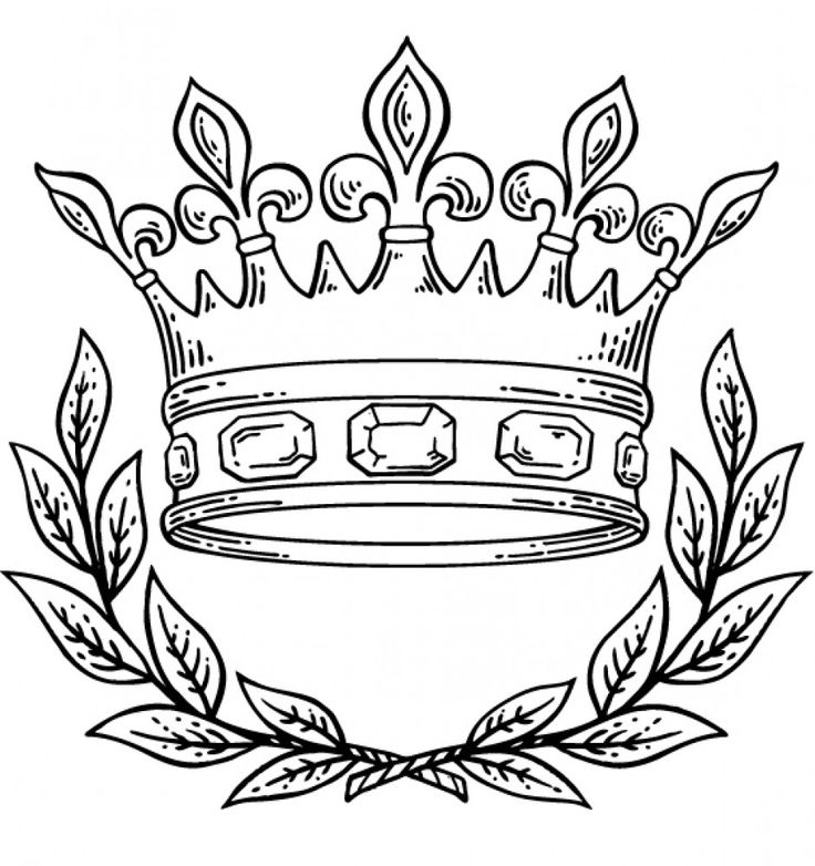 King And Queen Crown Drawing at GetDrawings Free for personal - best of coloring pages of king and queen