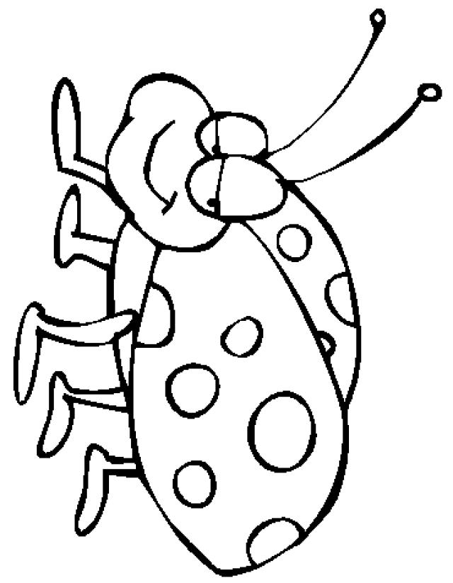 Ladybug Cartoon Drawing at GetDrawings Free for personal use - best of coloring pages with ladybugs