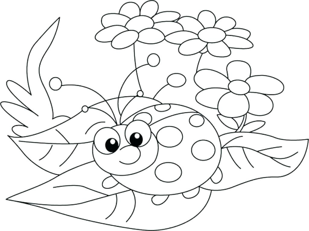 Ladybug Drawing For Kids at GetDrawings Free for personal use