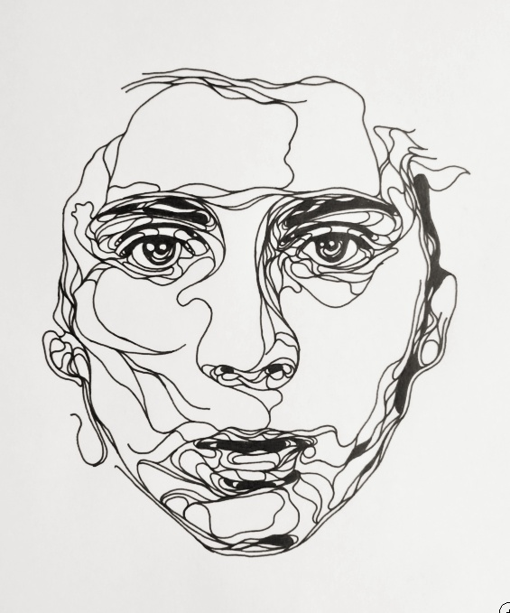 Line Drawing Portrait at GetDrawings Free for personal use - line drawing