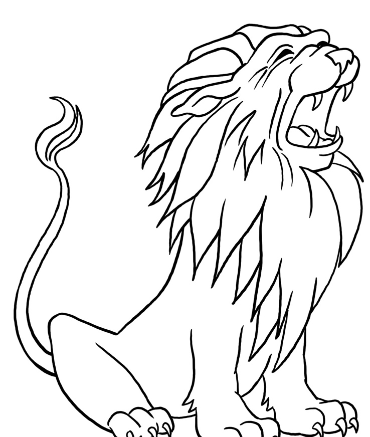 Lion Drawing at GetDrawings Free for personal use Lion Drawing