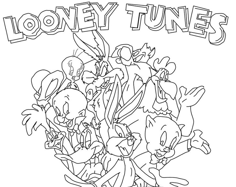 Looney Tunes Coloring Pages - Castrophotos