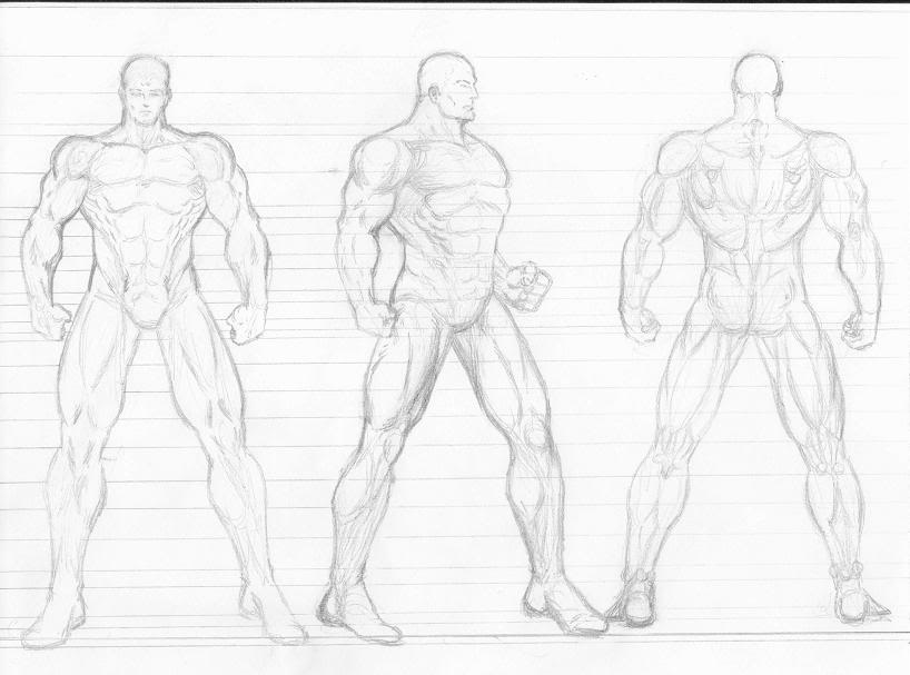 Character Drawing Template Anime u2013 Updrillboy parts body vector
