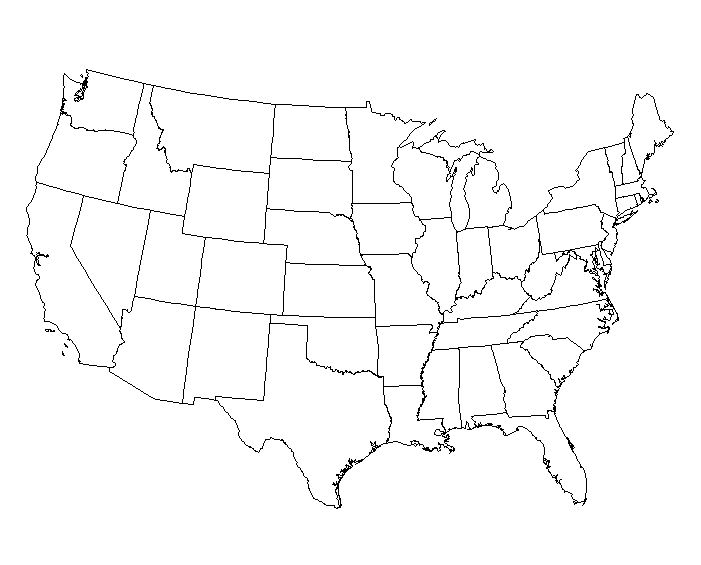 Map Of Us Drawing at GetDrawings Free for personal use Map Of - fillable us map