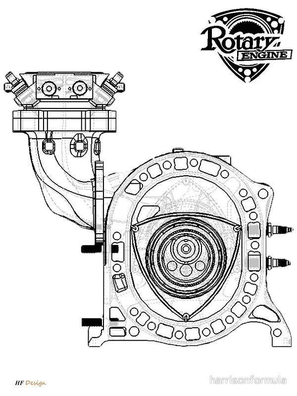 mazda rx 7 engine diagram