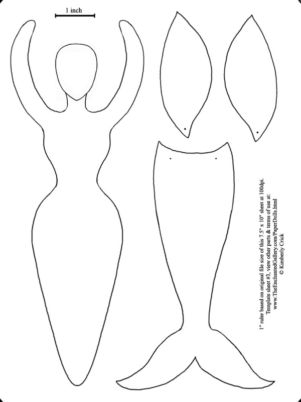 Mermaid Tail Drawing Template Www Picturesboss Com