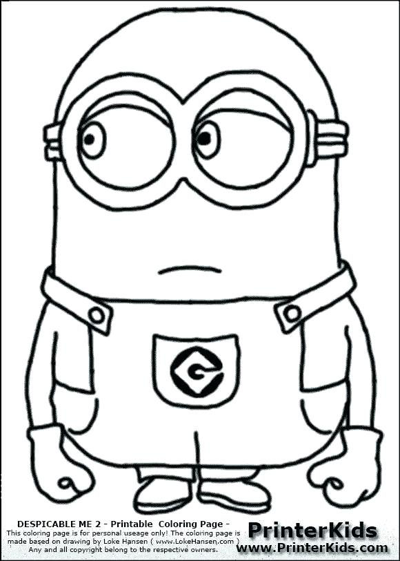 Minion Drawing Template at GetDrawings Free for personal use
