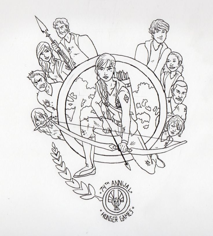 Mockingjay Pin Drawing at GetDrawings Free for personal use