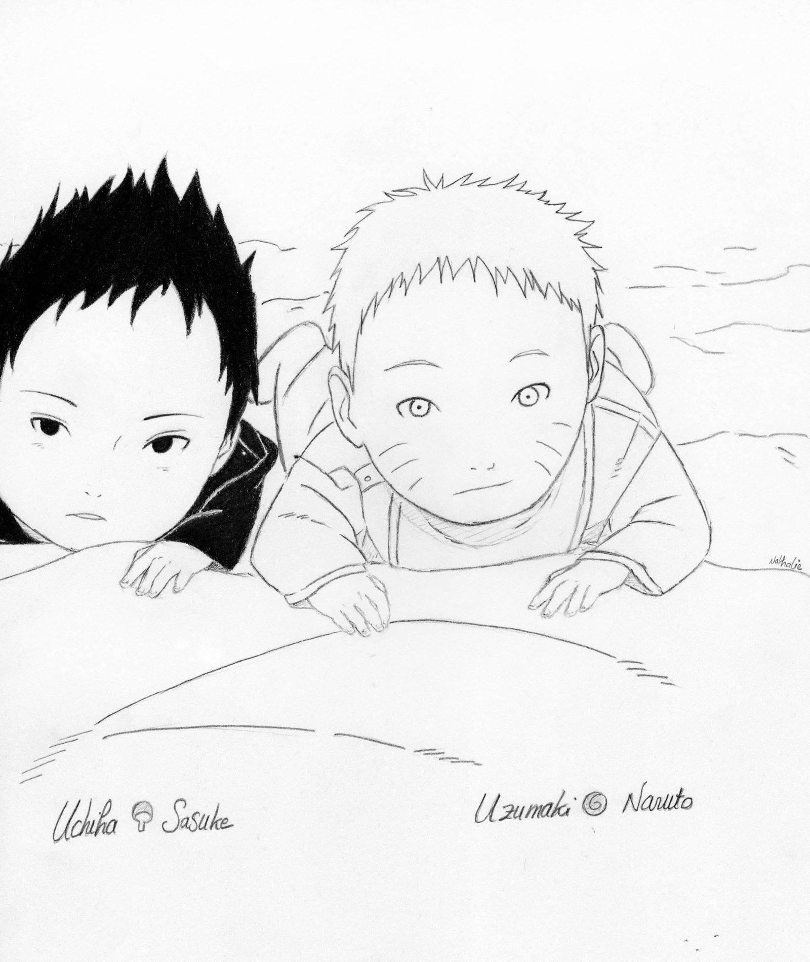 naruto shippuden drawing at getdrawings com