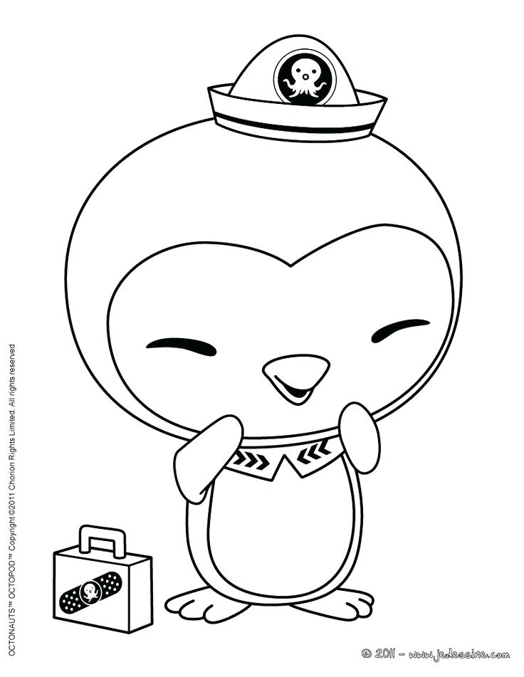 Awesome Kwazii Kitten From The Octonauts Coloring Page