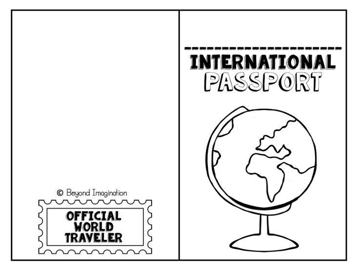 Pretend Passport Template Gallery - Template Design Ideas - passport template