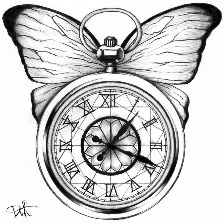 broken pocket watch clipart collection