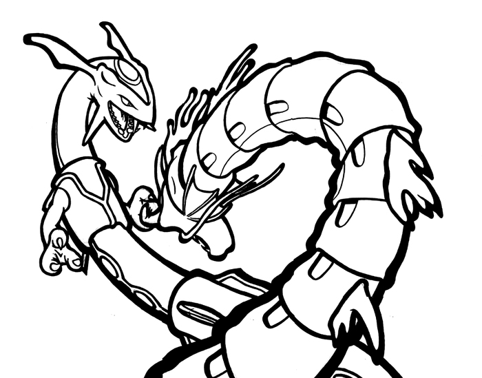 Pokemon Swampert Coloring Pages Gallery