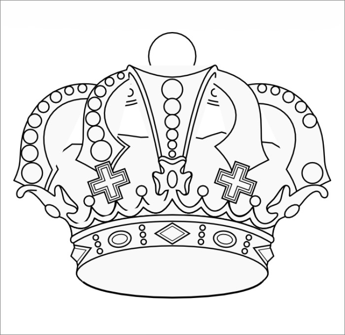 prince crown template - Yelomdigitalsite