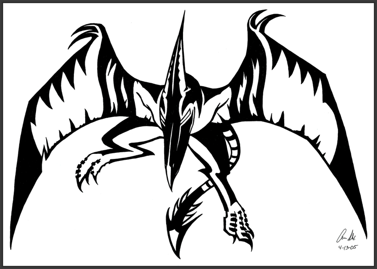 Excelente Colorear Pteranodon Motivo - Auto Electrical Wiring Diagram