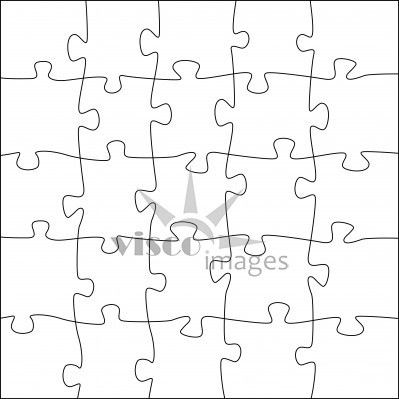 Puzzle Piece Drawing at GetDrawings Free for personal use - blank puzzle template