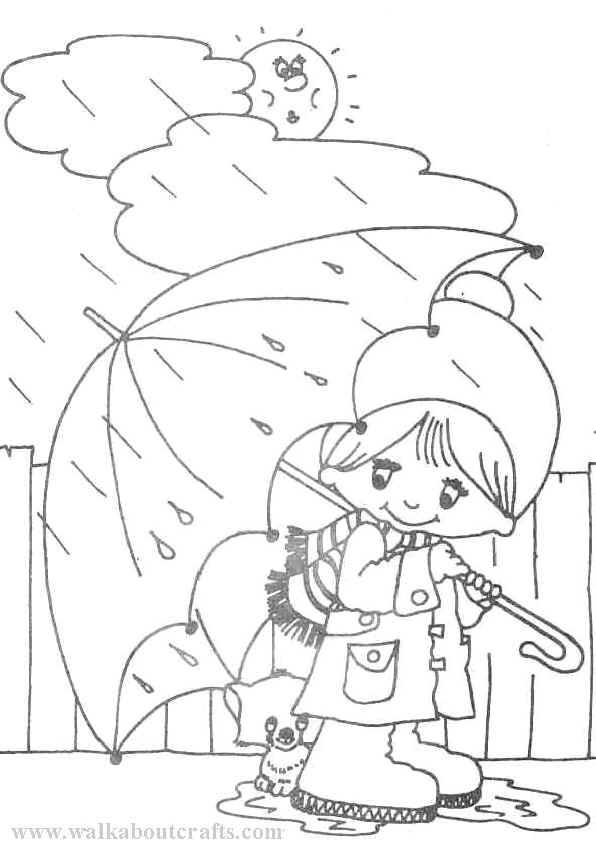 Rainy Weather Drawing at GetDrawings Free for personal use