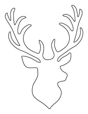 Reindeer Antlers Drawing at GetDrawings Free for personal use